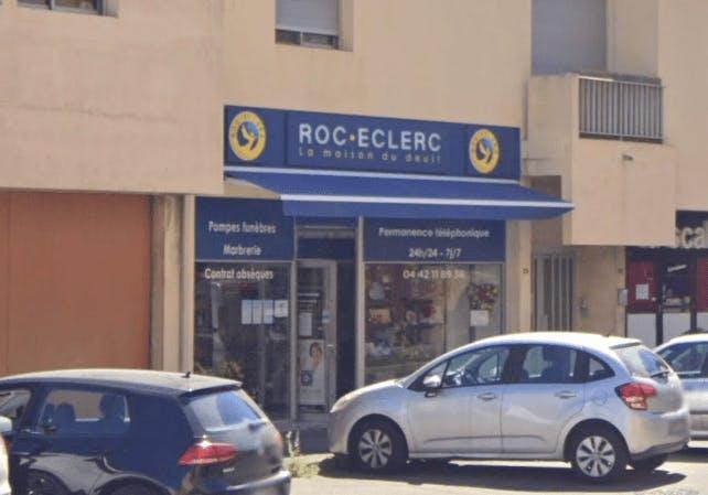 Photographie de la Pompes Funèbres ROC ECLERC à Istres
