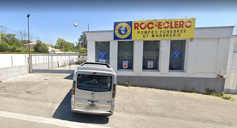Photographie Pompes Funèbres Roc-Eclerc d'Aubenas