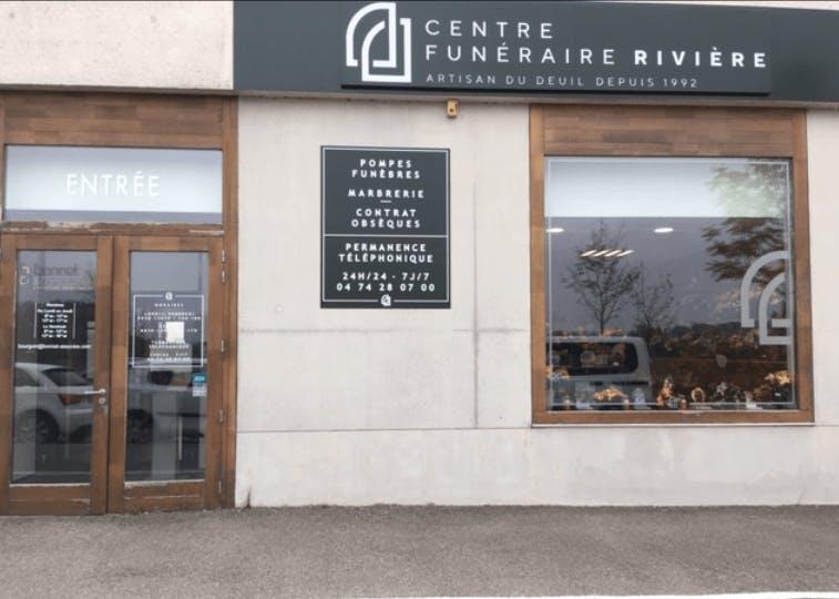 Photographie du Centre funéraire Rivière à Bourgoin-Jallieu