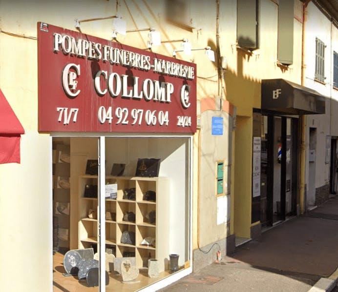 Photographie Pompes Funèbres Collomp de Mandelieu-la-Napoule