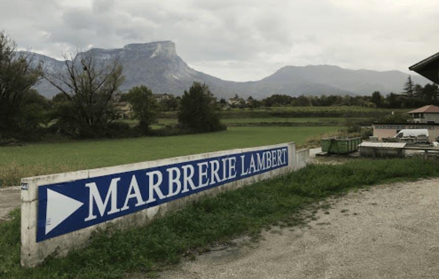 Photographie de la Marbrerie Lambert de la ville des Marches