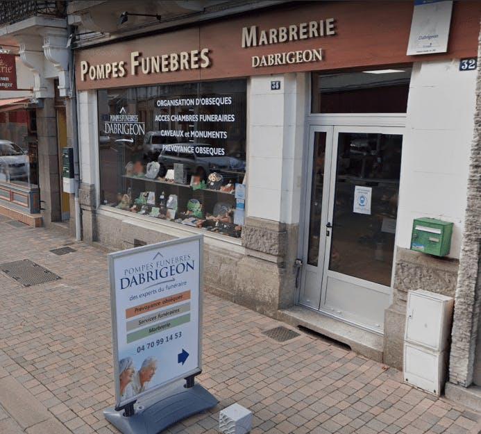 Photographie Pompes Funèbres Dabrigeon de Lapalisse