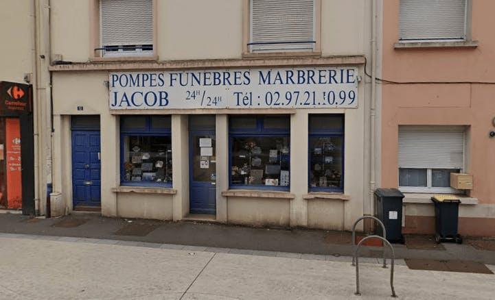 Photographie de la Pompes Funèbres et Marbrerie  Jacob à Lorient
