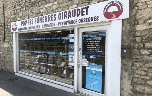 Photographie de Pompes Funèbres Giraudet de la ville de Genlis