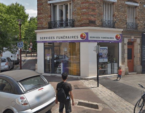 Photographie de la Pompes Funèbres Générales à Le Bondy
