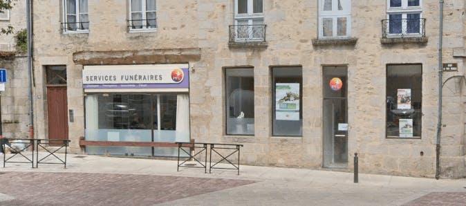 Photographie de la Pompes Funèbres Générales à Alençon