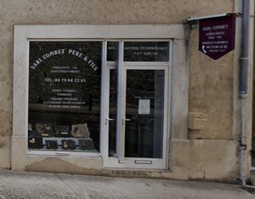 Photographie de la Pompes Funèbres Combet Pere Et Fils de Viviers
