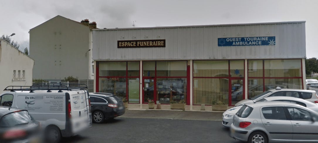Photographie Pompes Funèbres Ouest Touraine R. LAMBESEUR de Richelieu