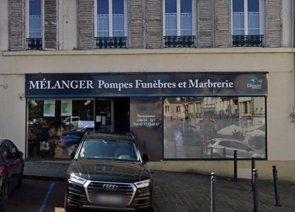 Photographies des Pompes Funèbres Marbrerie Mélanger à Nogent-sur-Marne