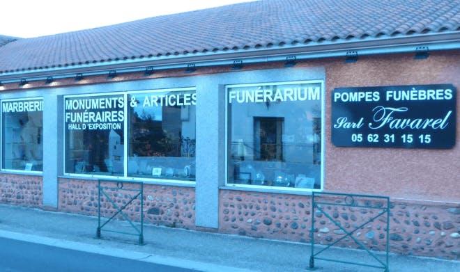 Photographie Pompes Funèbres & Marbrerie FAVAREL de Vic-en-Bigorre