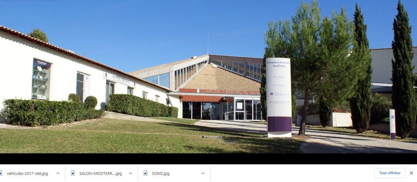 Photographie des Services Funéraires Montpellier Méditerranée Métropole