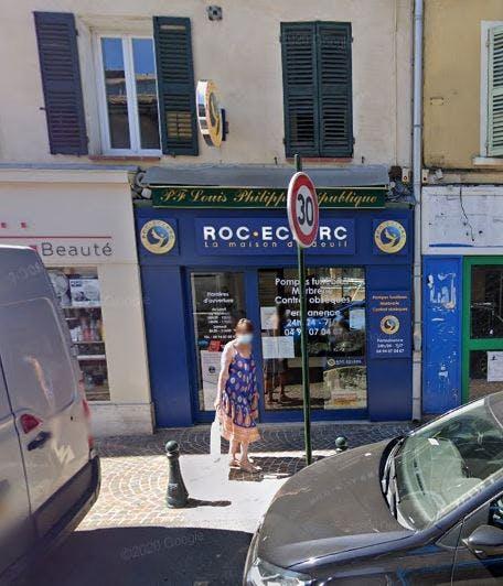 Photographie Pompes Funèbres Roc-Eclerc Six-Fours-les-Plages