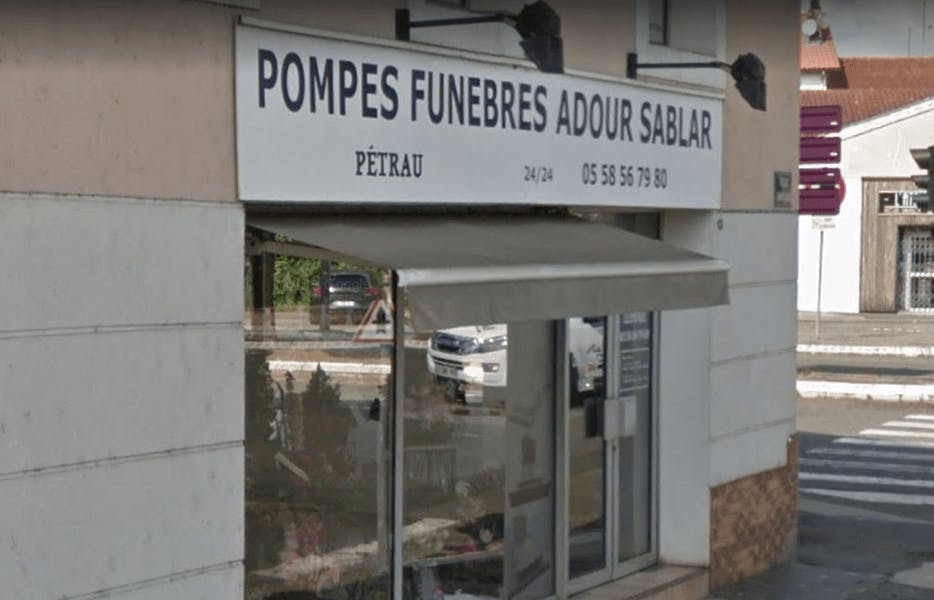 Photographie Pompes Funèbres Pétrau Adour Sablar de Dax