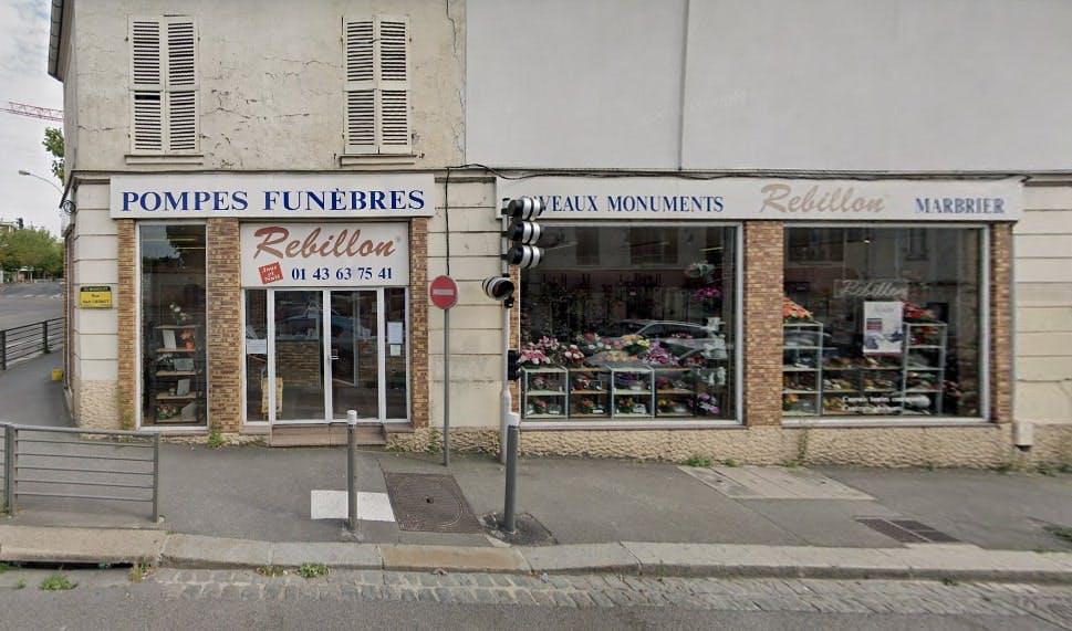 Photographies des Pompes Funèbres Marbrerie Rebillon à Bagnolet