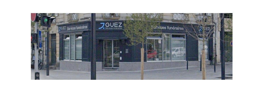 Photographie de la Pompes Funèbres Guez à Angers
