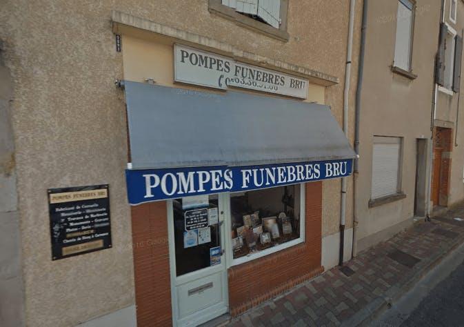 Photographie de la Pompes Funèbres BRU à Carmaux