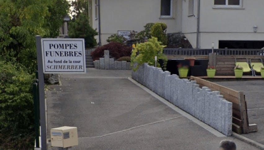 Photographie de la Pompes Funèbres Schmerber à Morschwiller-le-Bas