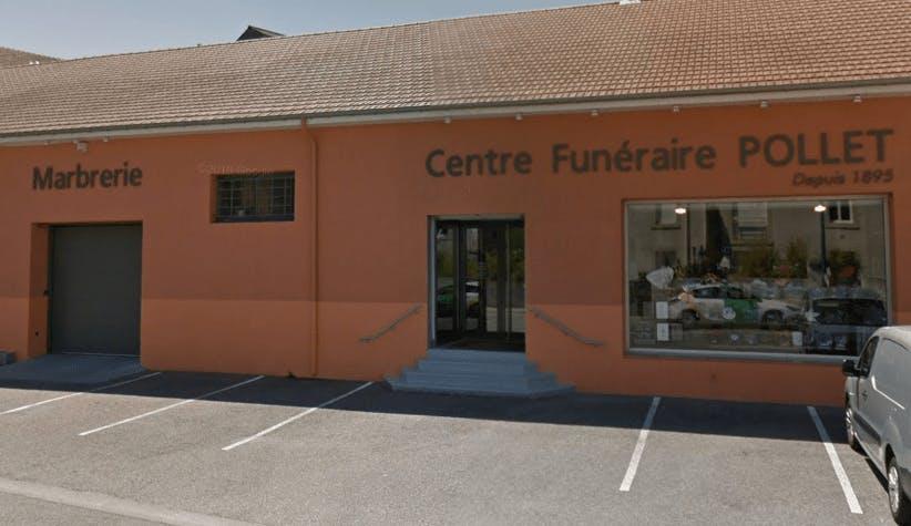 Photographie de la Centre Funéraire POLLET de la ville de Saint-Vallier