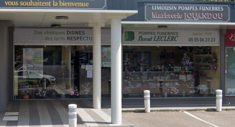Photographie des Pompes Funèbres Pascal Leclerc à Panazol