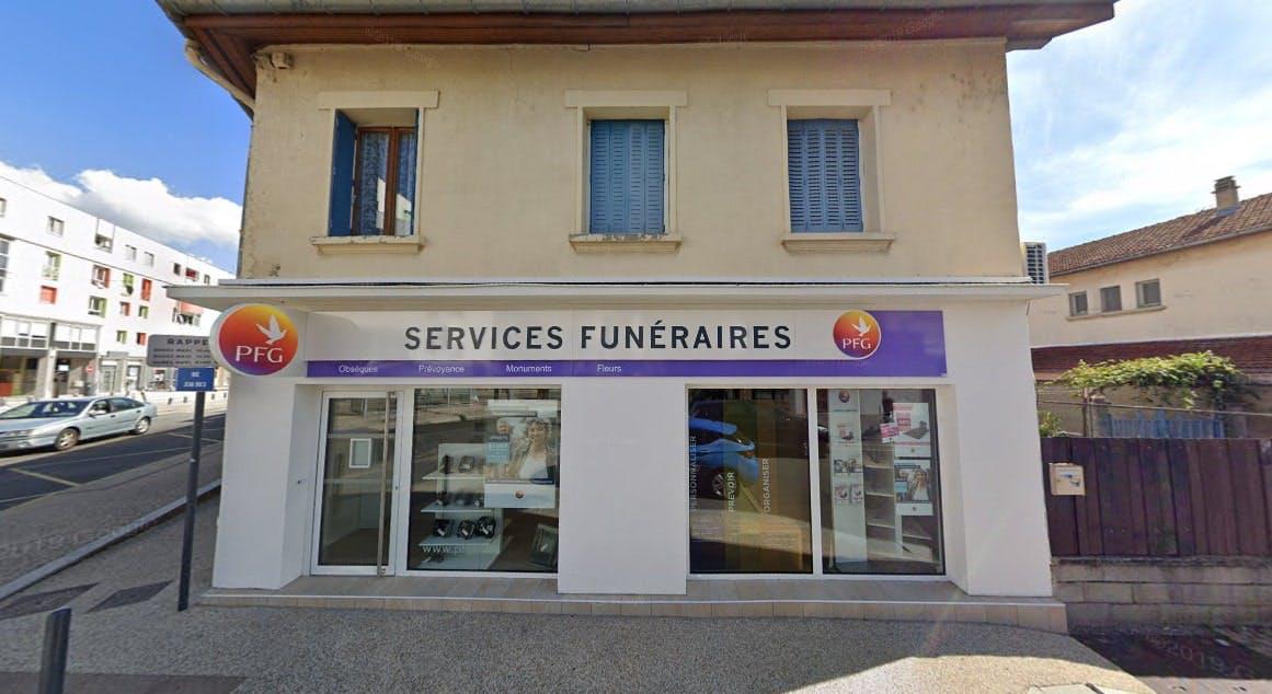 Photographies des Pompes Funèbres Genérales à Fontaine