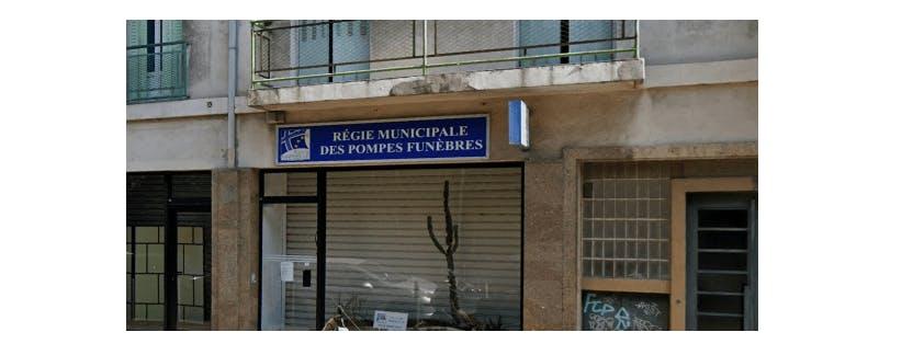 Photographie de la Pompes Funèbres Municipale à Marseille