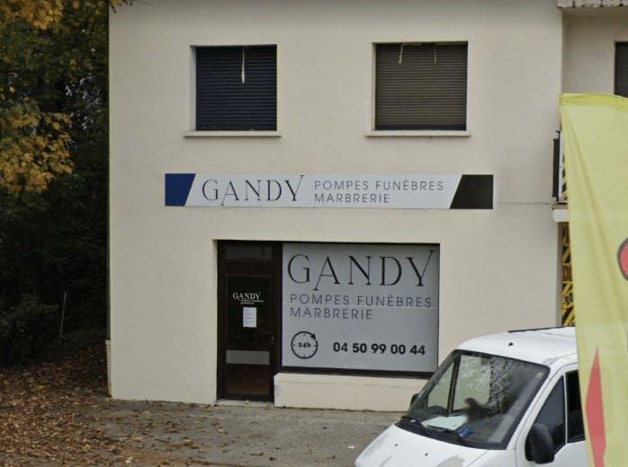 Photographie de la GANDY Pompes Funèbres et Marbrerie de la ville de Ferney-Voltaire