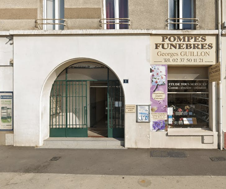 Photographie Pompes Funèbres Georges Guillon Dreux