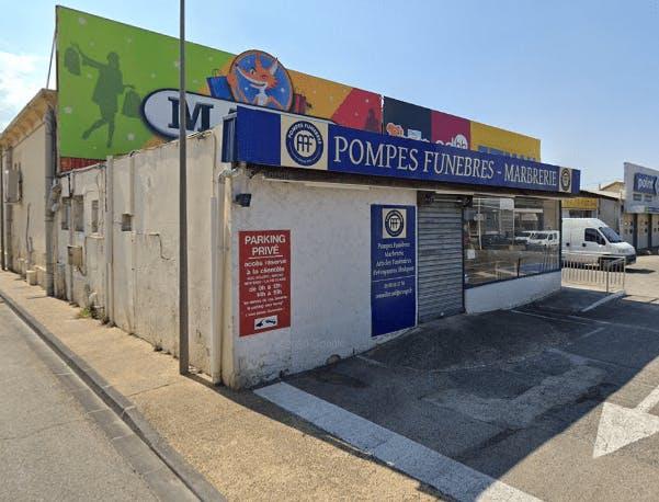 Photographie de la Pompes Funèbres AAF à Carpentras