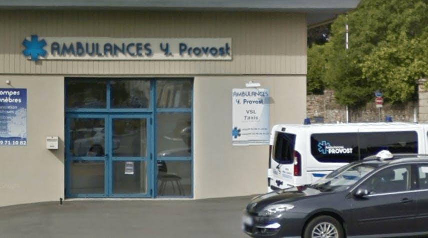 Photographie de l'Ambulance Provost à Redon