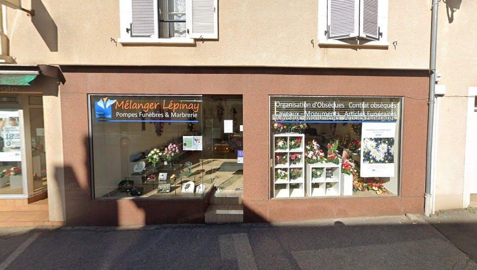 Photographies des Pompes Funèbres et Marbrerie Mélanger à Sillé-le-Guillaume