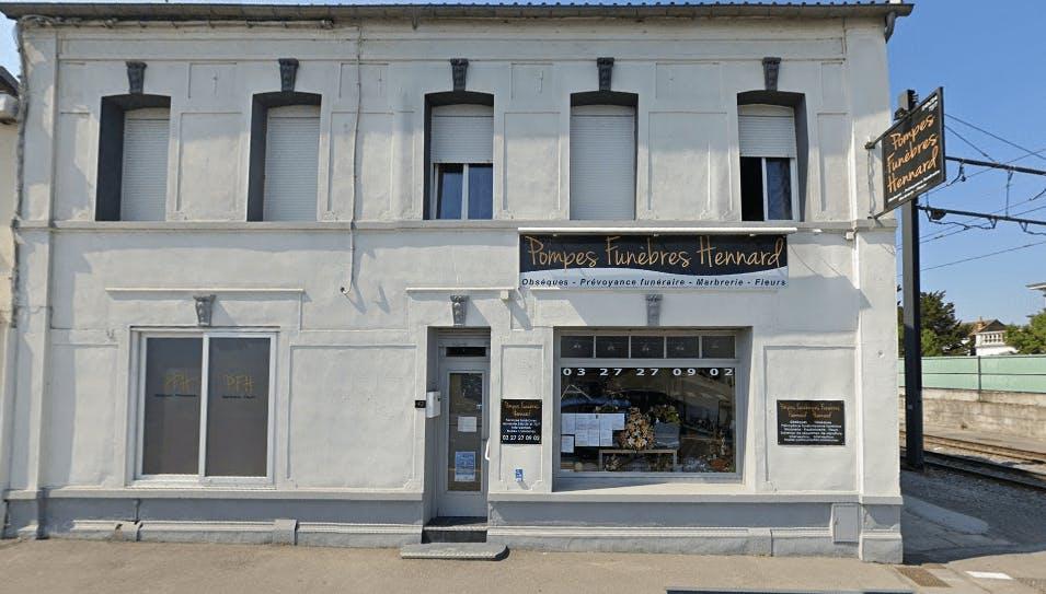 Photographie de la Pompes Funèbres HENNARD de la ville de Hérin