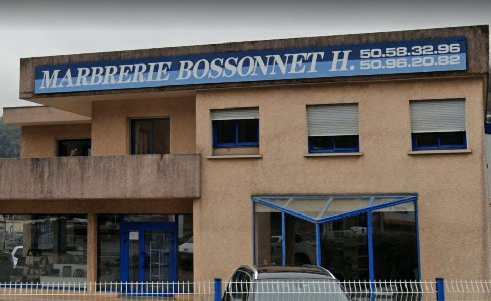 Photographie Marbrerie BOSSONNET de Sallanches