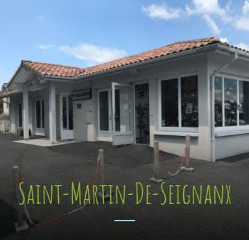 Photographie de la Pompes Funèbres Courtieux de la ville de Saint-Martin-de-Seignanx