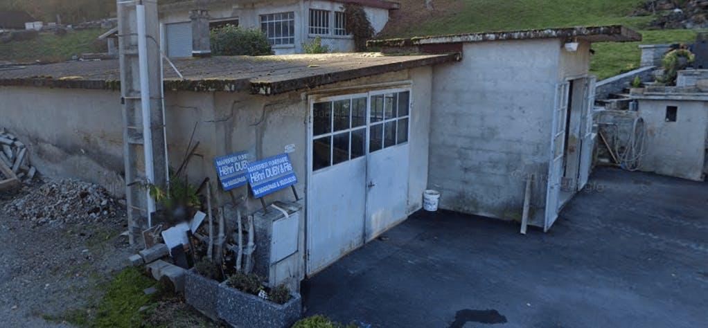 Photographie de la Marbrerie Duby de la ville de Saint-Pierre-en-Faucigny