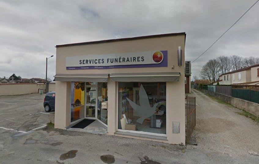 Photographie des Pompes Funèbres Genérales à Ambérieu-en-Bugey