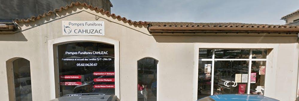 Photographie de la Pompes Funèbres Marbrerie CAHUZAC de la ville d'Eauze