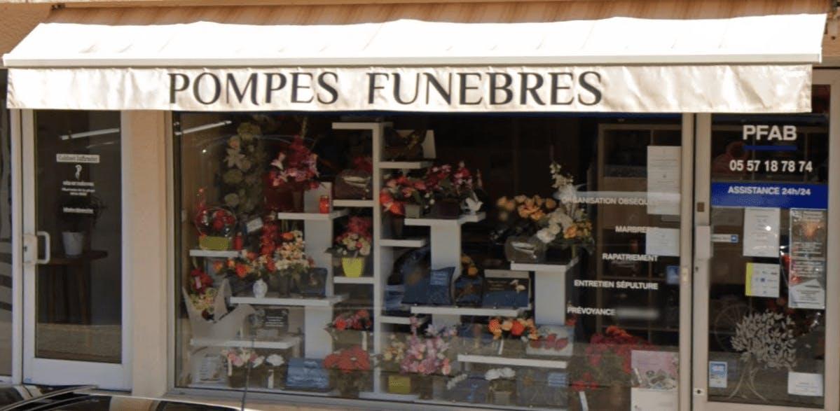 Photographie de la Pompes Funèbres ATLANTIQUE BASSIN - Le Choix Funéraire de la ville d'Arès