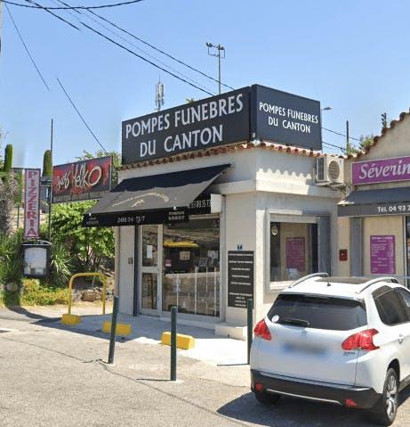 Photographie de la Pompes Funèbres du Canton à Grasse