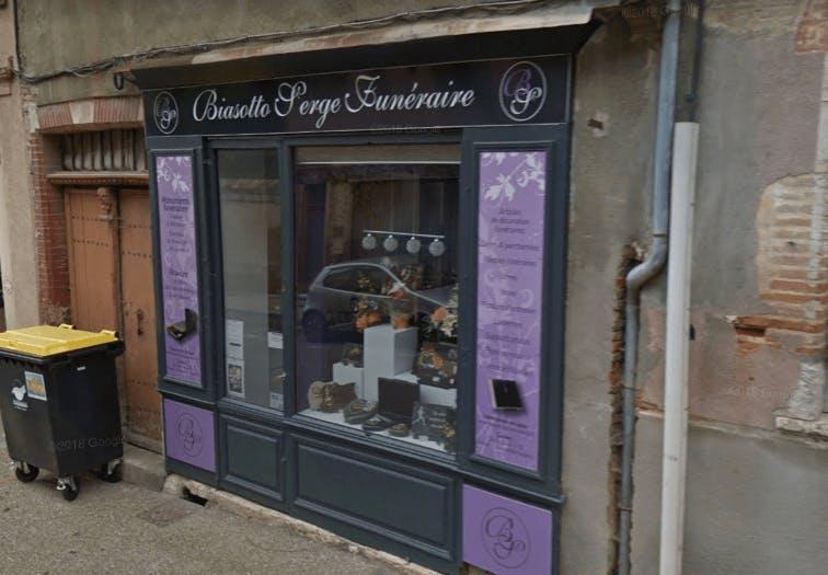 Photographie de la Marbrerie Biasotto Serge Funéraire à Beaumont-de-Lomagne