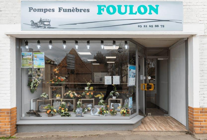 Photographie de la Pompes Funèbres houdinoises Foulon de la ville de Houdain