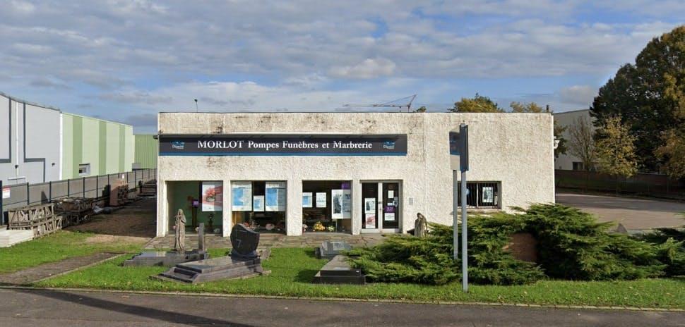 Photographies des Pompes Funèbres et Marbrerie Morlot Maizières-lès-Metz