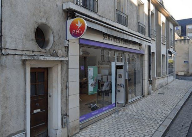 Photographie de la Pompes Funèbres Générales à Le Blois