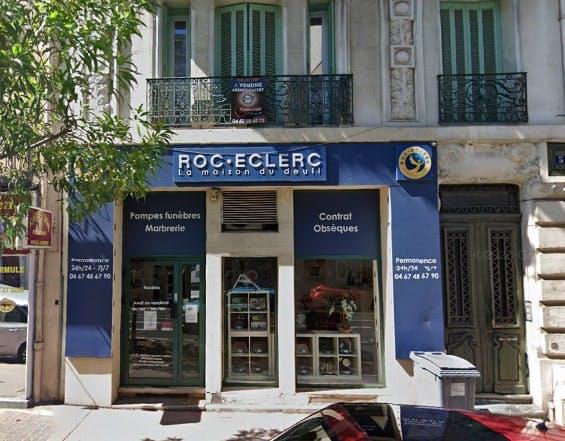Photographie des Pompes Funèbres Roc-Eclerc à Béziers