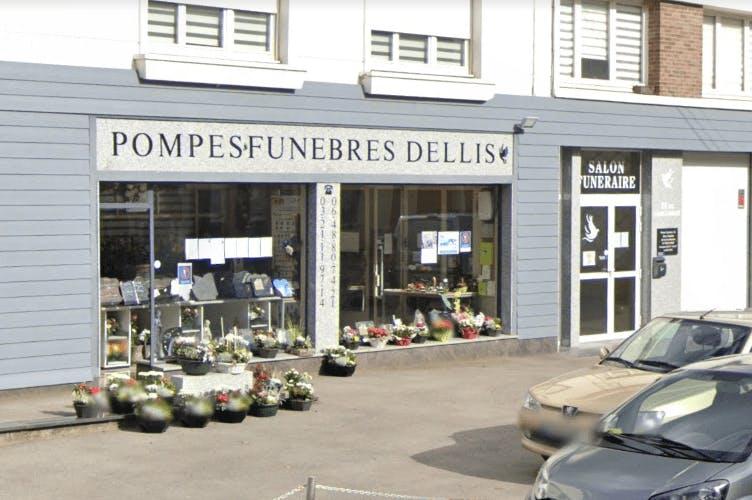 Photographie de la Pompes Funèbres Dellis à Aire-sur-la-Lys
