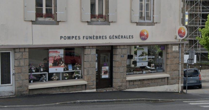 Photographie de la Pompes Funèbres Générales à Hennebont