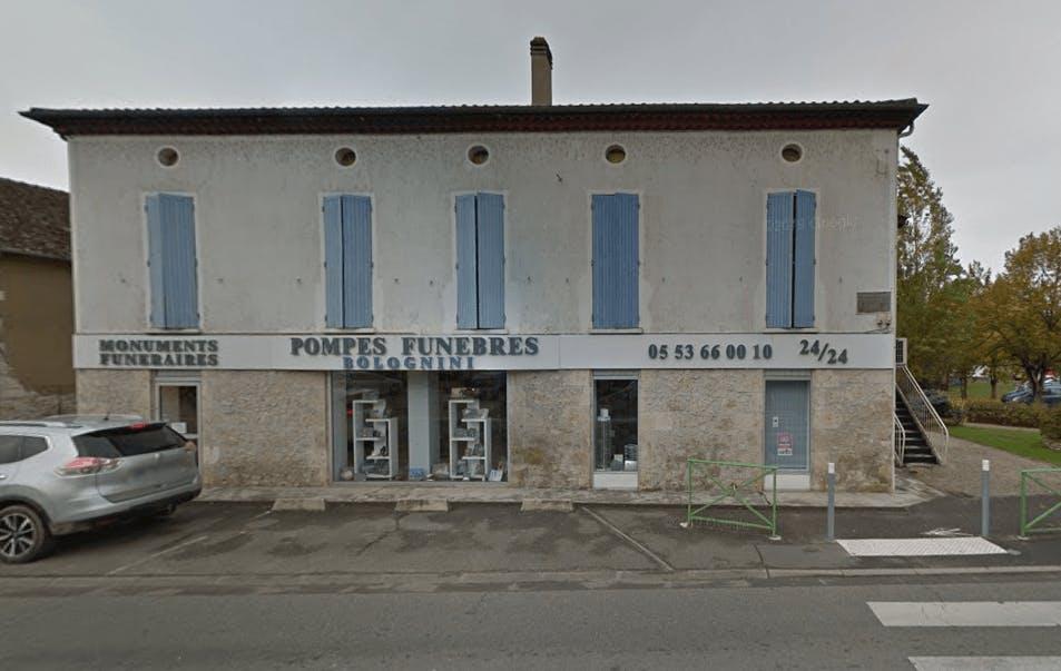 Photographie de la Pompes Funèbres Bolognini  de la ville de Pont-du-Casse