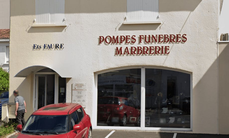Photographie Pompes Funèbres Marbrerie Saintaises de Saintes