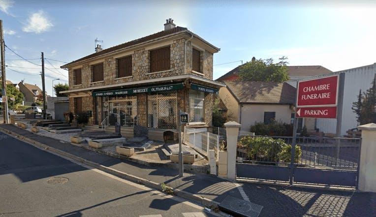 Photographie de la Pompes Funèbres et Marbrerie Morizet à Houilles