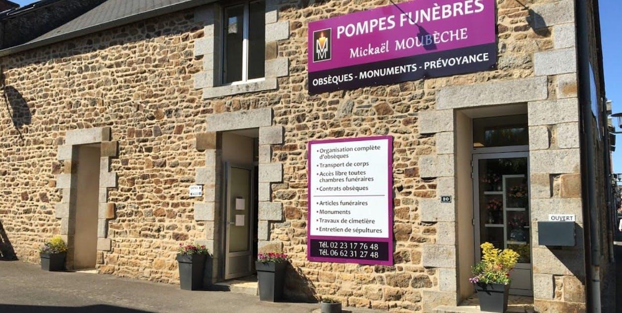 Photographies des Pompes Funèbres Mickaël Moubèche à Pleine-Fougères