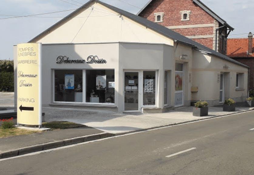 Photographie de la Pompes Funèbres Debureaux Dossin de la ville de Hargicourt